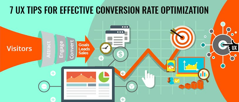 7 UX Tips for Effective Conversion Rate Optimization