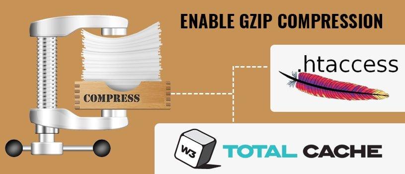 Enable Gzip Compression