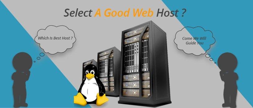 Select A Good Web Host