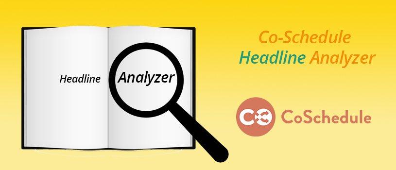 Co-Schedule Headline Analyzer