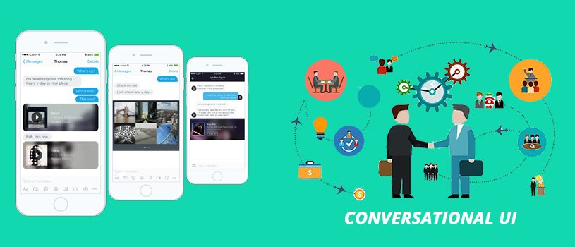 top 11 web design trends followed 2017 Conversational UI