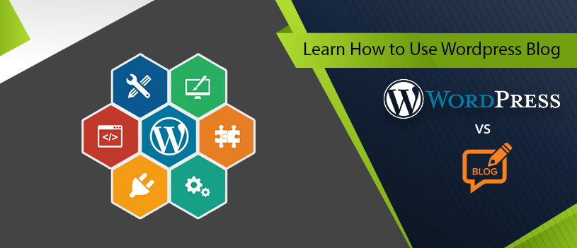 how to use wordpress blog