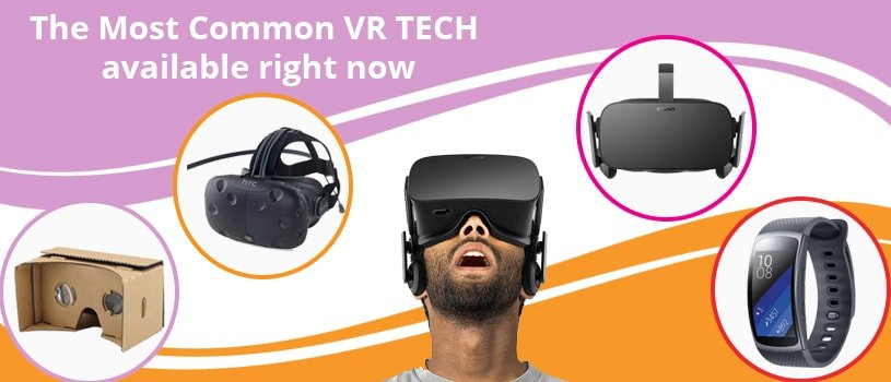 The Most Common VR Tech available right now