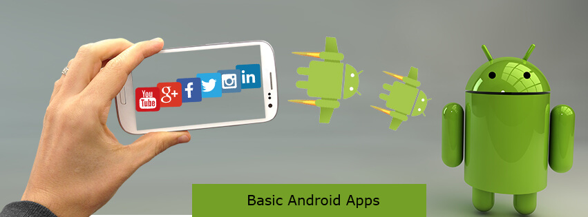 The basic thing to learn before building your first Android App