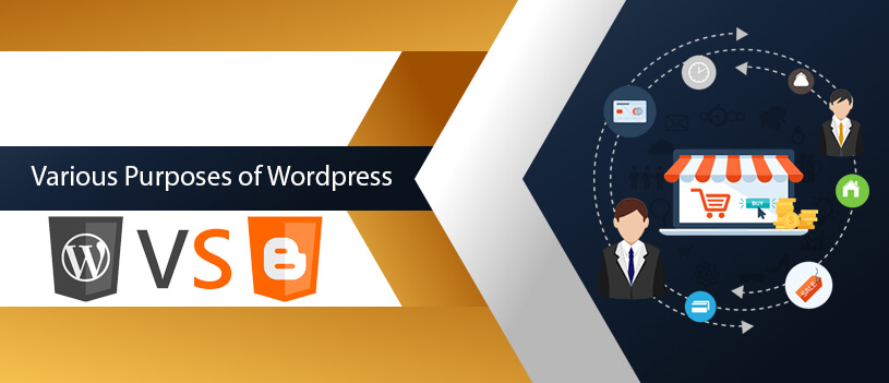 various purpose of wordpress