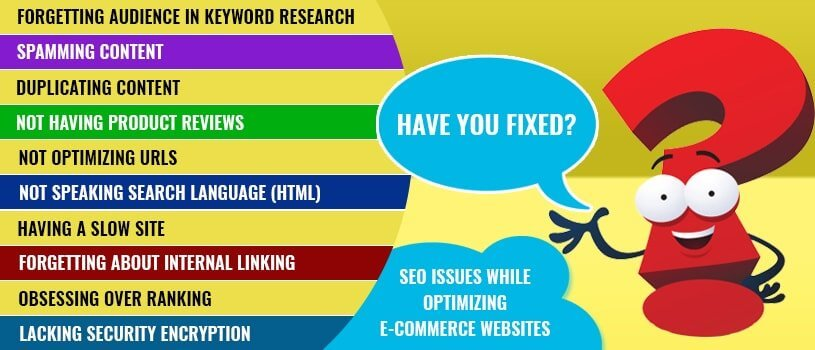 seo-issues-to-be-fixed-while-optimizing-ecommerce-website