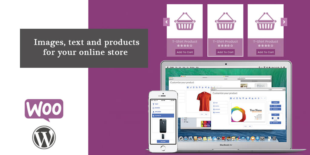 Images, Text and Products for your Online Store